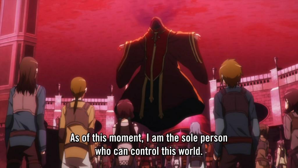 Kayaba Akihiko as he appears in E1S1