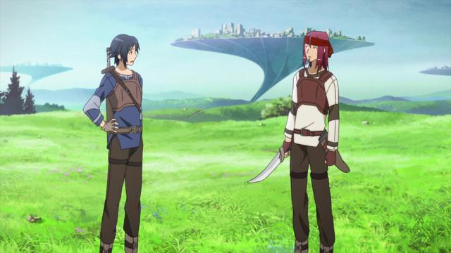 Kirito and Klein