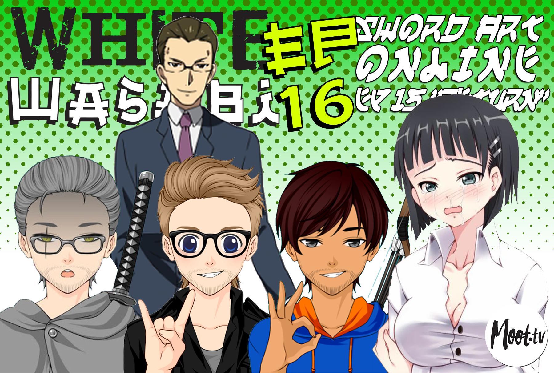 "White Wasabi Ep16: Sword Art Online Ep 15 ""Return"""