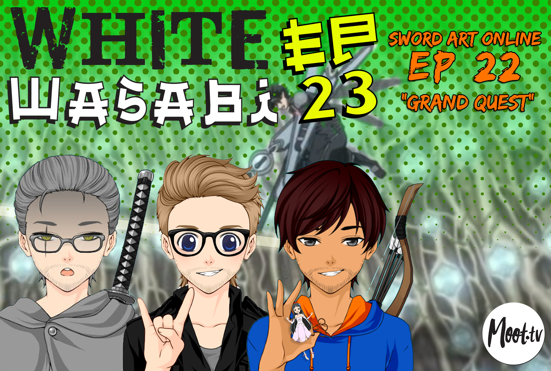 "White Wasabi Ep23: Sword Art Online Ep 22 ""Grand Quest"""