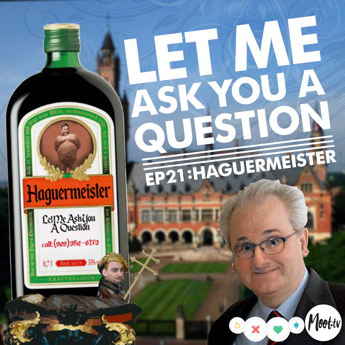 Let Me Ask You A Question Podcast Ep21: Haguermeister