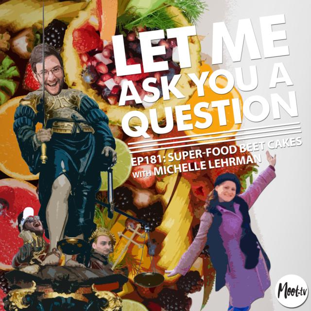 Ep181: Super-food Beet Cakes with Michelle Lehrman - LMAYAQ